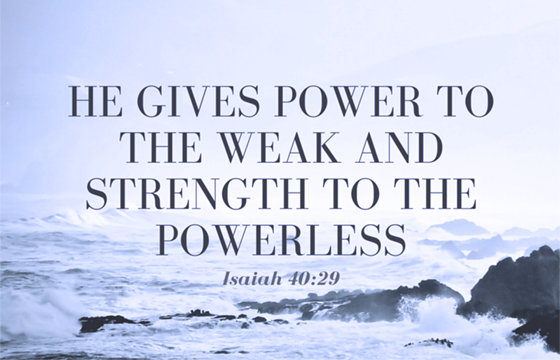 Power to the Weak